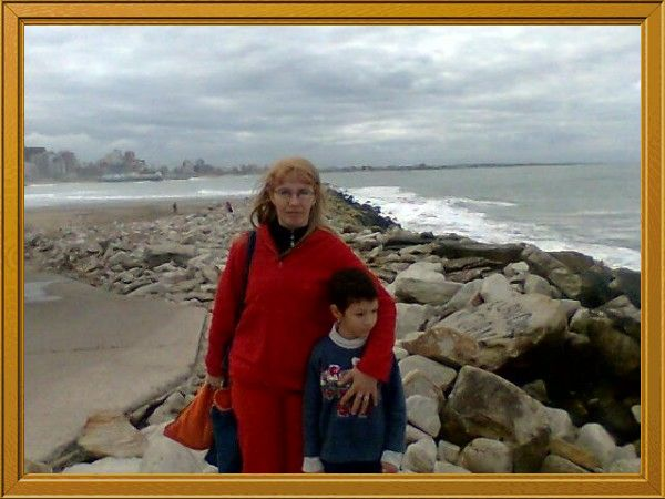 Fotolog de rosariovicenta: Con Mi Hijo Natanael En Mar Del Plata